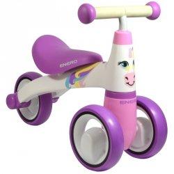 Rowerek biegowy jeździk Enero różowy konik