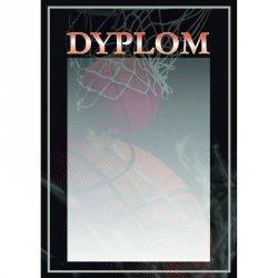 Dyplom Papierowy - Koszykówka (25 Szt.)