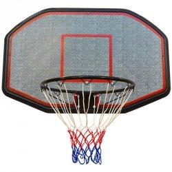 Tablica do koszykówki 109x71cm Enero i obręcz 45cm
