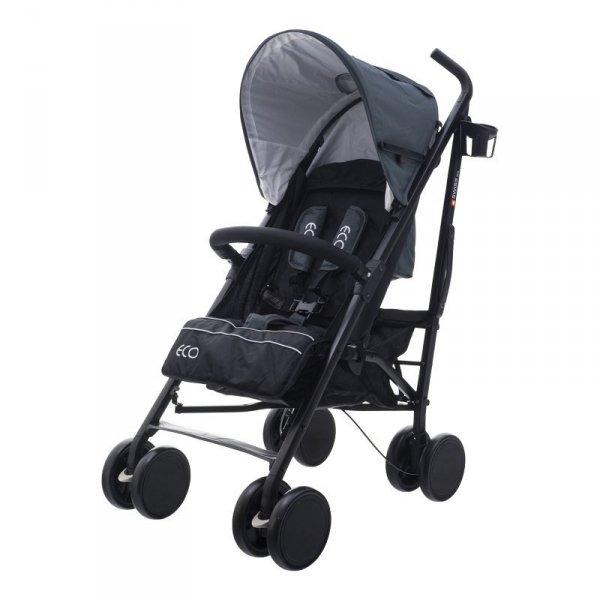 Wózek eco swiss design 300d dark gray