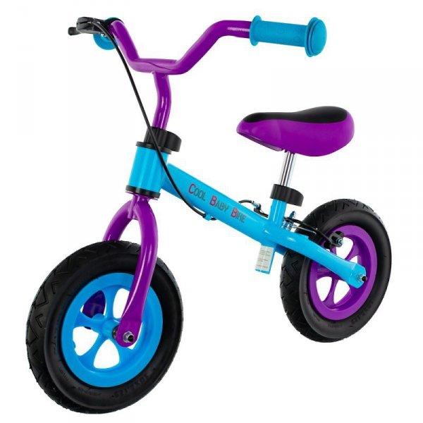 Rowerek bieg cool air blue/pur