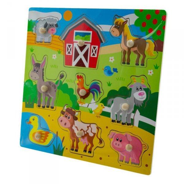 Zab puzzle 30x30 farm