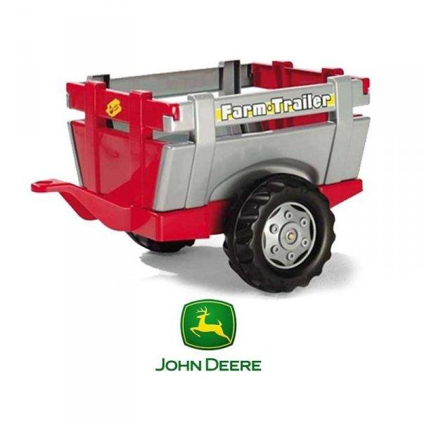 Rolly Toys rollyTrailer Przyczepa do traktora Otwierane Burty