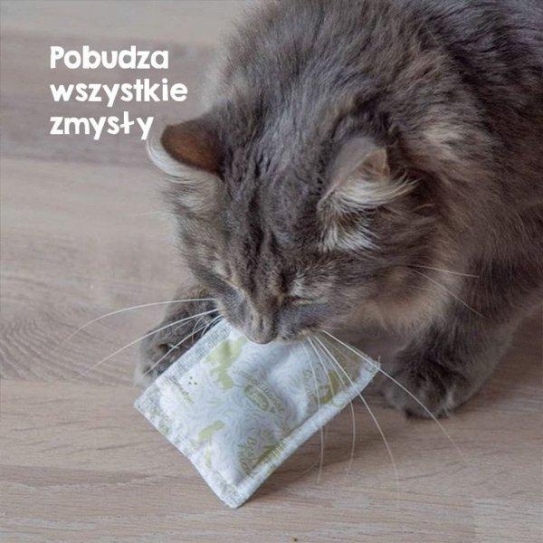 TRUE HEMP Poduszka dla kota - Z KONOPIAMI I WALERIANĄ