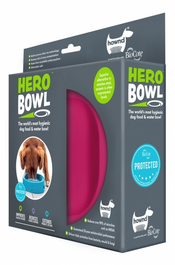 HERO Bowl Raspberry Rose