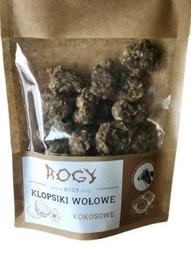 Rogy KLOPSIKI wołowe kokosowe 80g