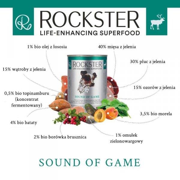 Rockster Sound of game - jeleń 340g