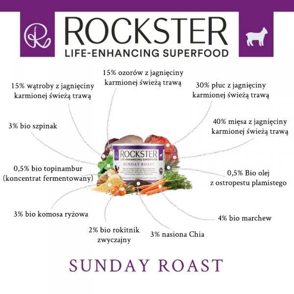 Rockster Sunday Roast - jagnięcina 195g