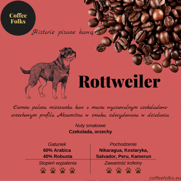 Kawa ROTTWEILER CoffeeFolks 250g