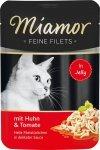 Miamor 74084 Filets Kurczak + Pomidory 100gr sasze