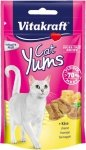Vitakraft 1320 CAT YUMS 40g + 20% Cheese- ser