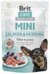 Brit Care Mini 85g Salmon Herring Sterilised sasze