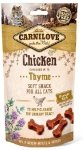 Carnilove Cat Snack 7212 Chicken & Thyme 50g