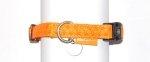 Zolux 435171ORA Obroża Mac Leather 15mm pomarańcz