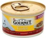 Gourmet Gold 85g Duot Wołowina Kura
