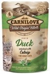 Carnilove Cat 8362 Pouch Duck & Catnip 85g