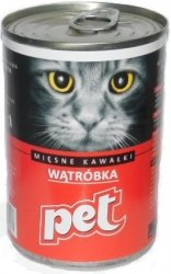 Pet Cat 410g Wątróbka