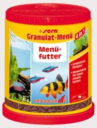 Sera 00070 Granulate Menu 150ml granulat