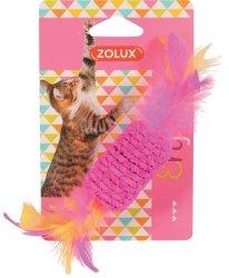 ZOLUX 580712 Zabawka dla kota cukierek z piórkami