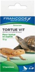Francodex 174054 Witaminy dla żółwi i gadów 15g
