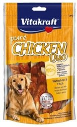 Vitakraft 16627 Chicken Duo kawałki kurczaka 80g