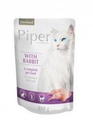 Piper 2087 Sterilised królikiem saszetka 100g kot