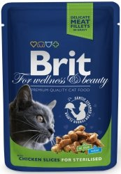 Brit 6033 Premium Cat 100g Chicken Sterilised sasz
