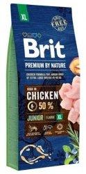 Brit Premium By Nature XL Junior 15kg