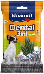 Vitakraft 08900 Dog Dental 3w1 fresh XS 70g