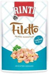 Rinti 95407 Filetto Kurczak Łosoś w gal 100g