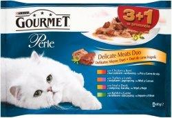 Gourmet Perle 4x85g Duet Rybny 3+1gratis