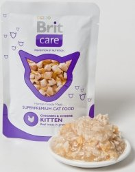 Brit 7054 Care Cat 80g Kitten saszetka
