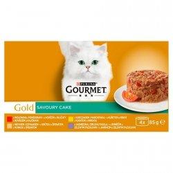 Gourmet 4731 Gold 4x85g Savoury Cake