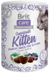 Brit Care Cat Snack Super Fruits Kitten 100g