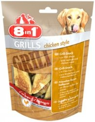 8in1 111788 Przysmak Grills Chicken Style 80g