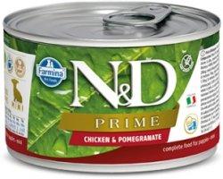 ND Dog 2277 Adult Mini 140g Prime Chicken Pomeg