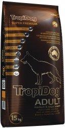 TropiDog 56058 Super Adult M&L Lamb&Rice 15kg