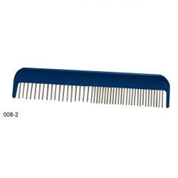 Lessie 008-2 Grzebień plast. obrot. gęsty/rzadki