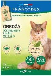 Francodex 179170 Obroża insektobój dla kota 43cm