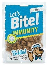 Brit Let's Bite N Dog Immunity 150g