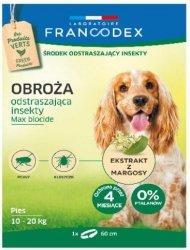 Francodex 179172 Obroża insek. dla średni psa 60cm