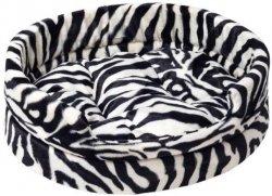 Derma 1122 Legowisko futerko z poduszką Zebra 3