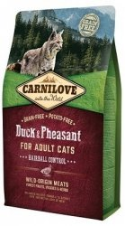 Carnilove Cat 2355 Hairball Control Duck&Phea 400g