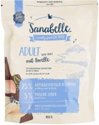 Sanabelle N 43010 Adult Pstrąg 400g