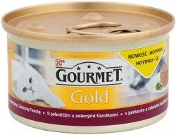 Gourmet Gold 85g Jagnięcina i Zielona fasola