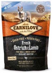 Carnilove Dog 7472 Fresh Ostrich& Lamb Smal 1,5kg