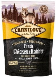 Carnilove Dog 7502 Chicken & Rabbit Adult 1,5kg
