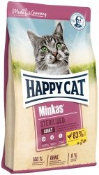 Happy Cat 4222 Minkas Sterilised Drób 10kg