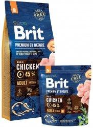 Brit Premium By Nature M Adult 8kg