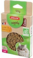 Zolux 582140 MOOKY BIO Cat Lovies kurczak 50g